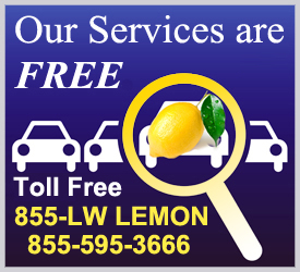 Free Lemon Law Legal Services