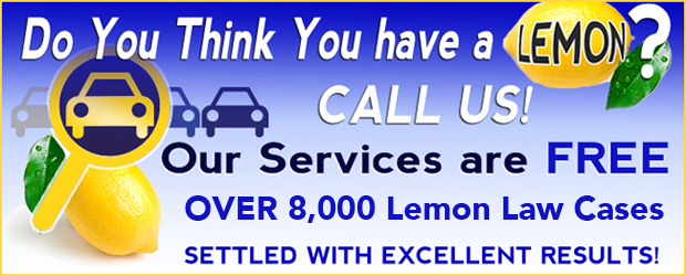 California Lemon Law experts, Free lemon law services