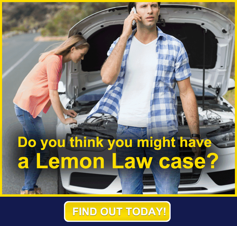 contact us about a possible lemon law case