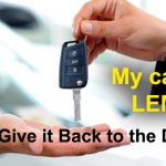 giving car back to dealer, California Lemon Law case, Manufacturer Buy Back