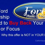"Ford Dealers Offering to ""Buy Back"" the Fiesta and Focus"