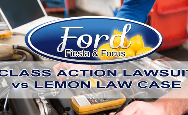 Ford Fiesta, Focus, lemon law cases