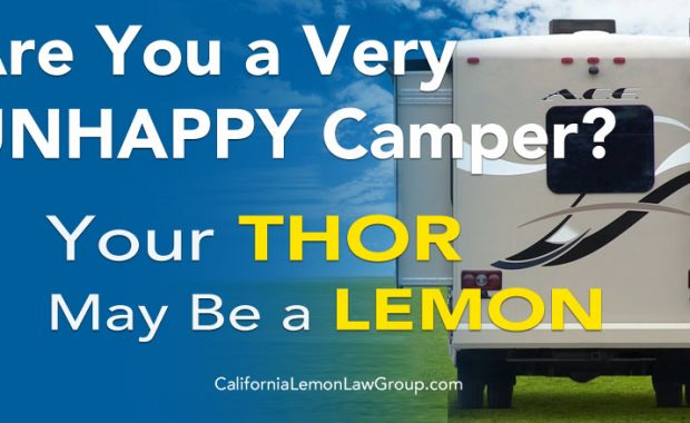 Thor motorhome slide out problem, lemon law, Thor Motor Coach