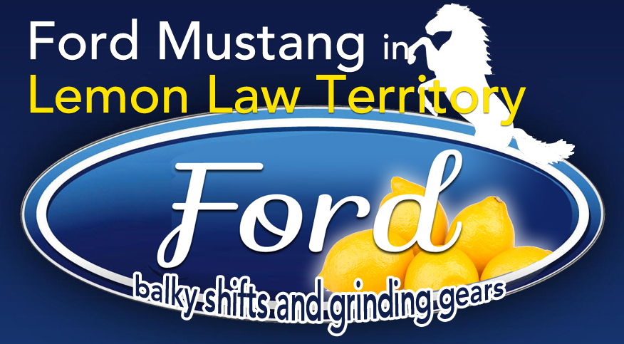 Ford Mustang transmission problems, lemon law cases