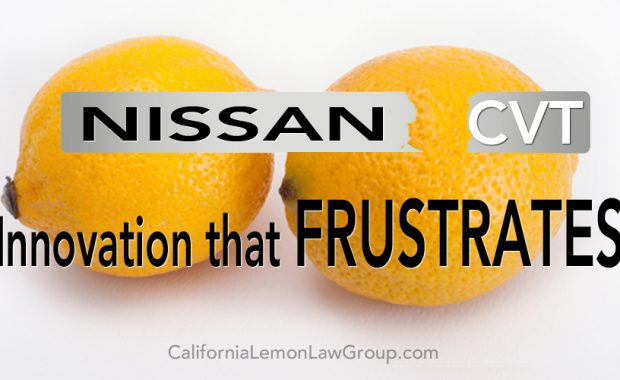 Nissan CVT transmission, California Lemon Law