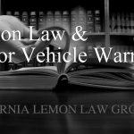 California Lemon Law and Motor Vehicle Warranty