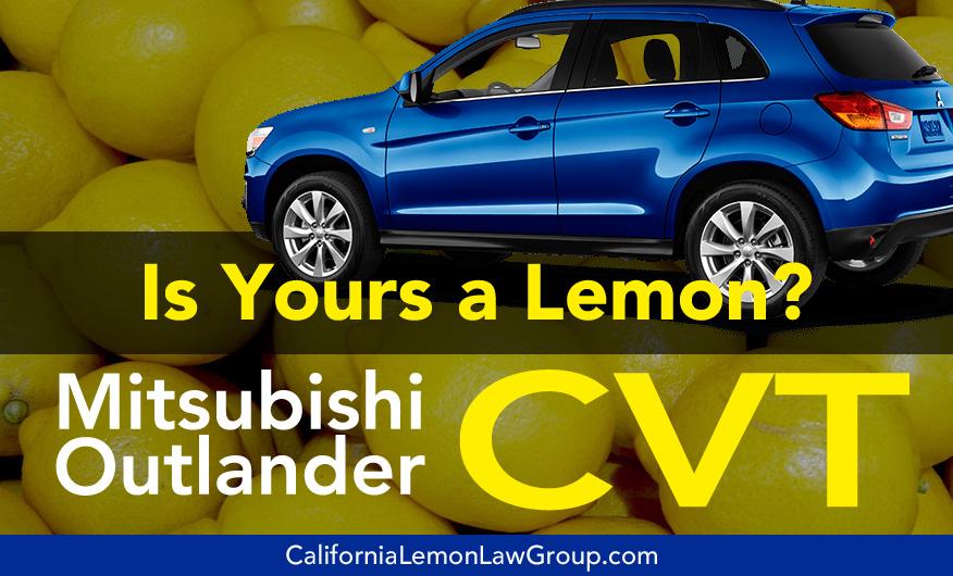 Mitsubishi Outlander Lemon Law Cases