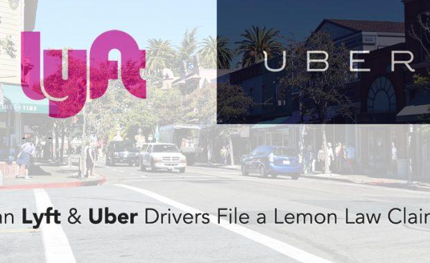 Uber, Lyft, California Lemon Law