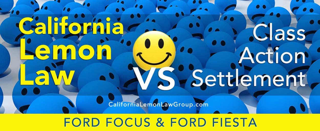 Lemon Law vs Class Action, Ford Focus, Ford Fiesta