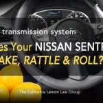 Nissan Sentra, CVT transmission, California Lemon Law
