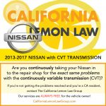 Is Your 2015-2018 Nissan with a CVT Transmission a Lemon?