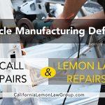 Hyundai, Kia Recalls and California Lemon Law