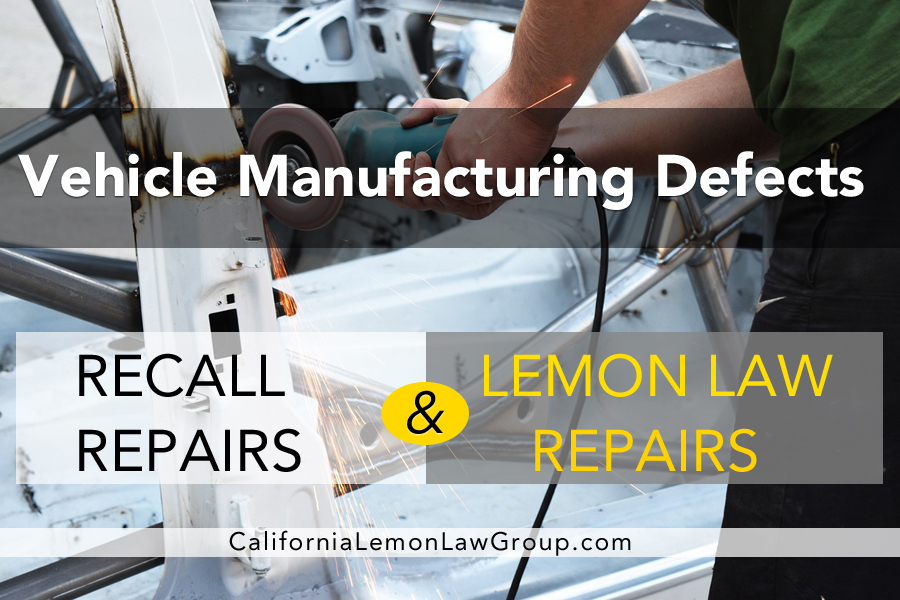 auto recall repairs vs lemon law auto repairs