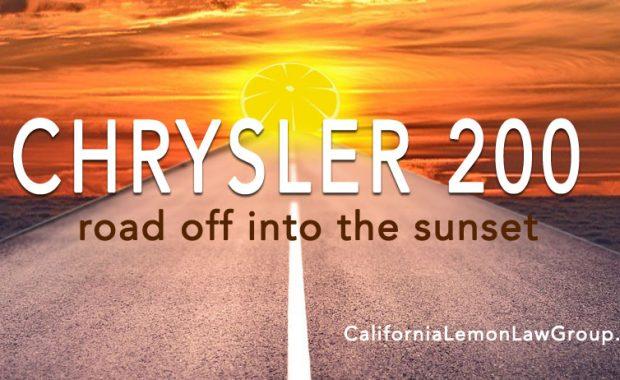 transmission problems Chrysler 200, lemon lawsuits, 2015, 2016, 2017