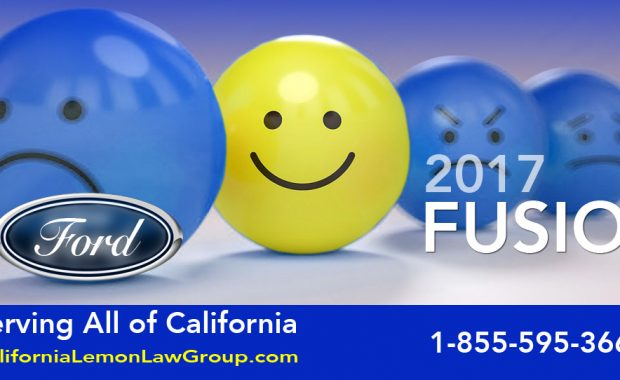 2017 Ford Fusion Lemon Law Cases, California Lemon Law Group