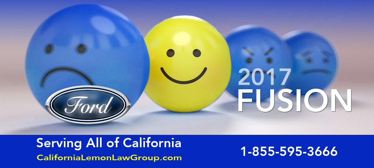 2017 Ford Fusion Lemon Law Cases, California Lemon Law Group