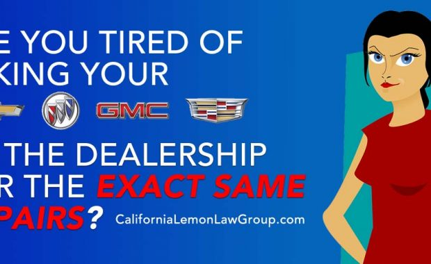 California Lemon Law, GM, Cheverlot, Chevy