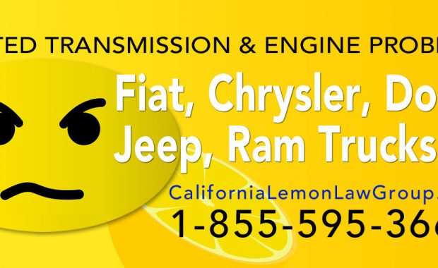 Fiat Chrysler Dodge California Lemon Law