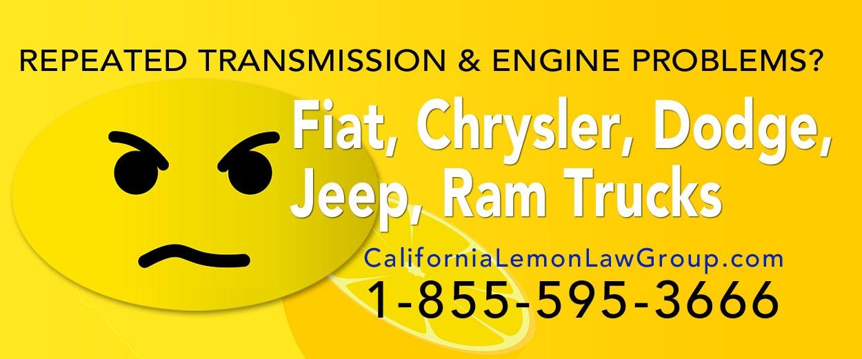Fiat Chrysler Dodge California Lemon Law