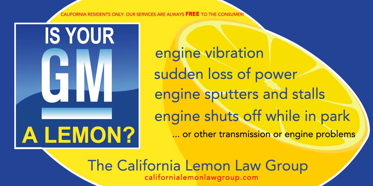 California Lemon Law >> What Does It Mean When Gm Says They Will Buyback Your Vehicle