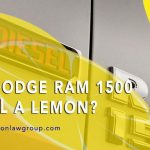 Is Your Dodge Ram 1500 EcoDiesel a Lemon?