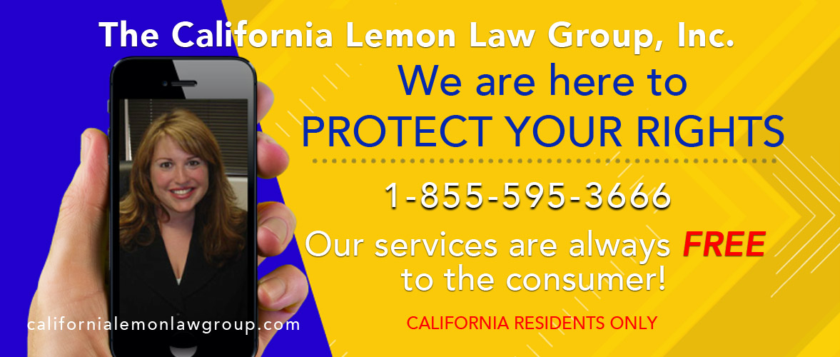 California Lemon Law Expert, free lemon law services