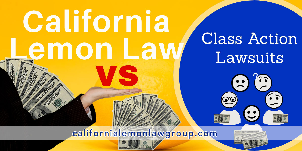 California Lemon Lawsuit or Class Action Lawsuit