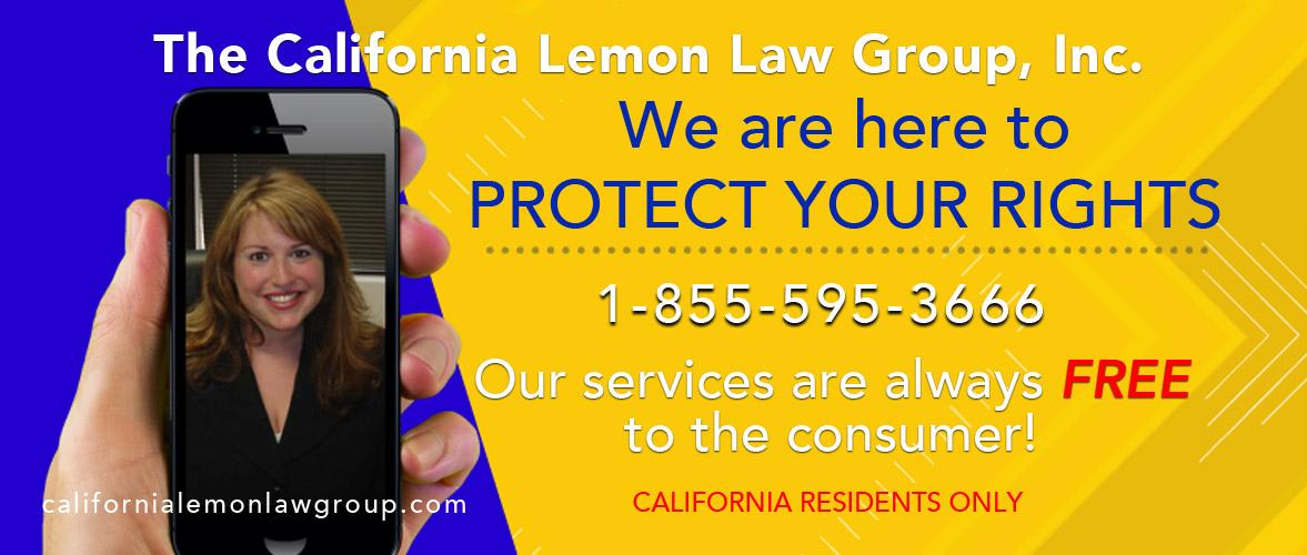 California Lemon Law experts, Free lemon law services