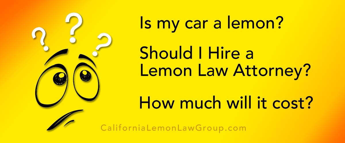 California Lemon Law >> How To Prove Your Car Is A Lemon California Lemon Law Group