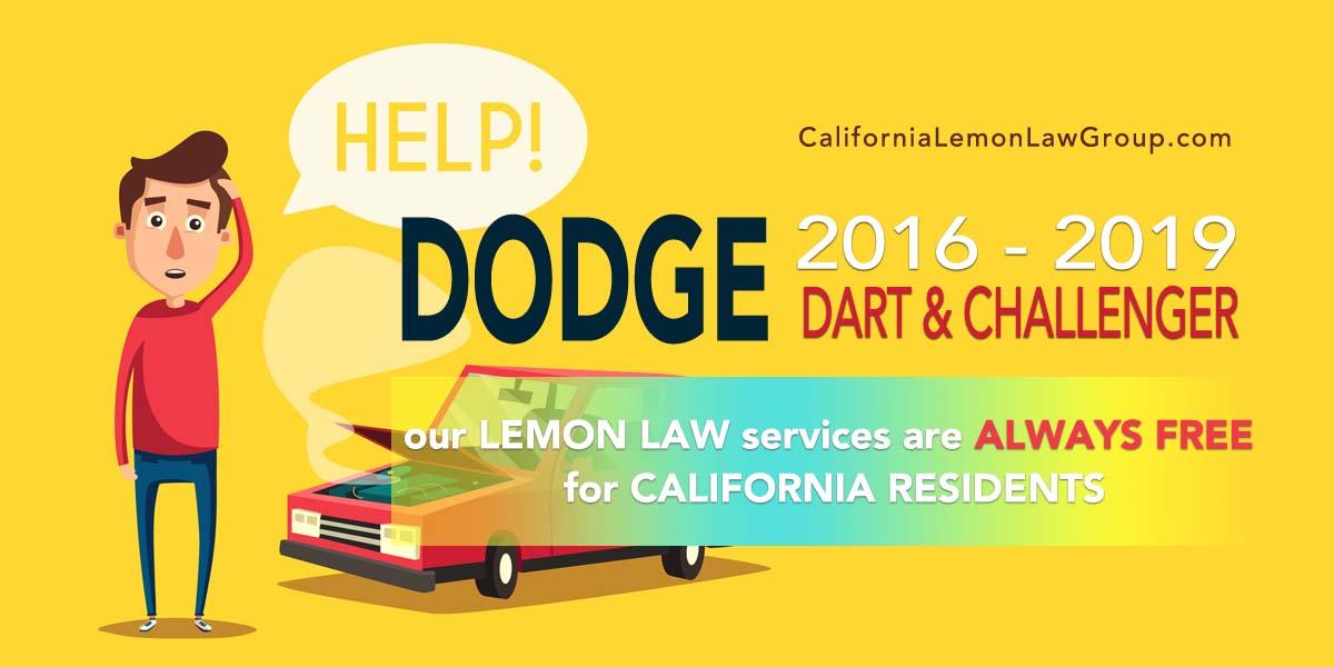 California Lemon Law, Dodge Dart, Challenger, 1500 EcoDiesel