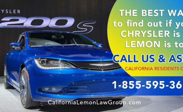 Chrysler 200 Lemon, California