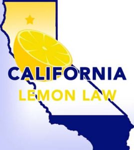 location map, California Lemon Law attorney