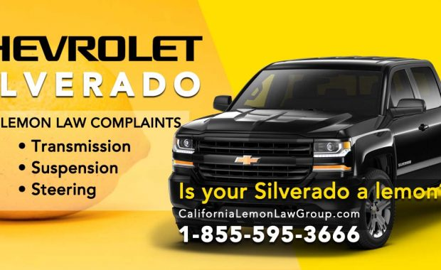 Chevy Silverado 1500 California Lemon Law Cases