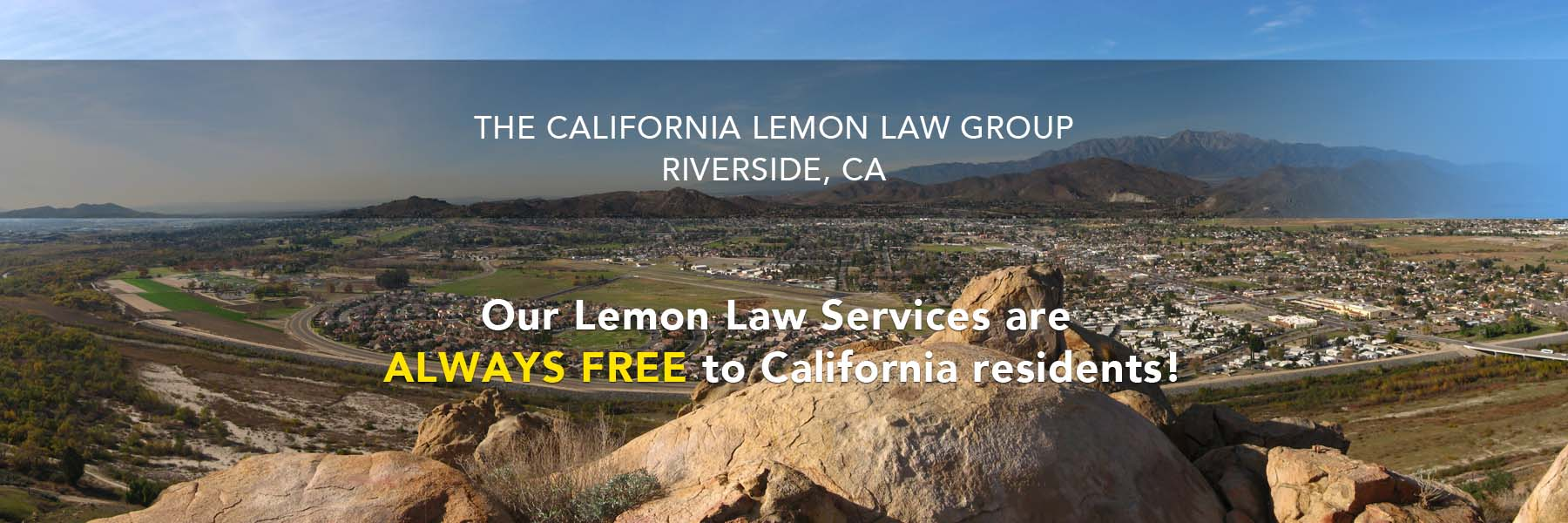 Lemon Law Attorney, Riverside, Temecula, Escondido, California