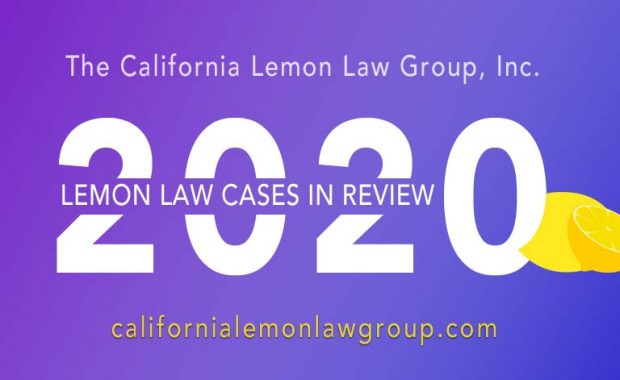 California Lemon Law 2020 Review