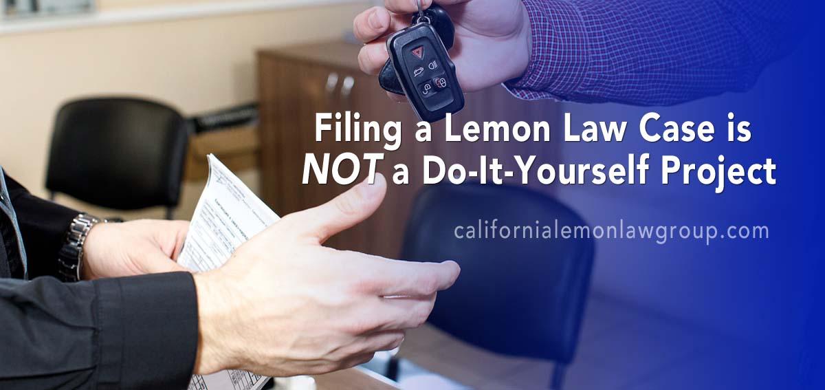 filing a lemon law case California