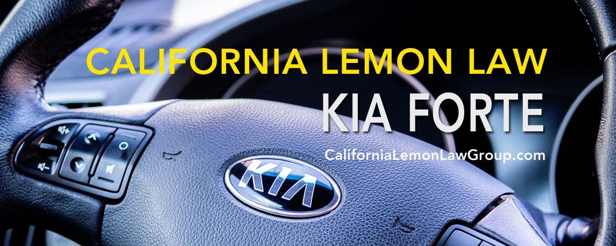 Kia Forte, California Lemon Law, Kia engine problems